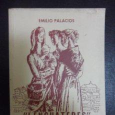 Libros de segunda mano: LENGUATERES (O DIOS NOS LIBRE D'UN LEVANTU). EMILIO PALACIOS. SAINETE GIJONES. 4ª EDICION. PROLOGO D. Lote 50427750
