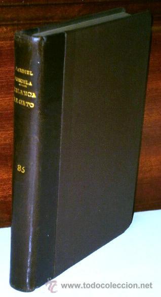 DE BLANCA AL GATO PASANDO POR EL BULEVAR POR ENRIQUE JARDIEL PONCELA DE BIBLIOTECA NUEVA MADRID 1946 (Libros de Segunda Mano (posteriores a 1936) - Literatura - Teatro)