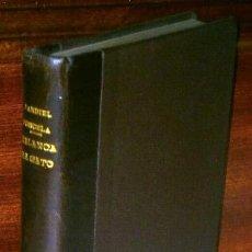 Libros de segunda mano: DE BLANCA AL GATO PASANDO POR EL BULEVAR POR ENRIQUE JARDIEL PONCELA DE BIBLIOTECA NUEVA MADRID 1946. Lote 45379927
