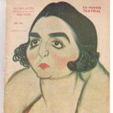 Libros de segunda mano: LA NOVELA TEATRAL. Nº 179. MI CARA MITAD. MIGUEL R. CARRIÓN. MADRID 16 MAYO 1920. (TTRO4). Lote 47625862