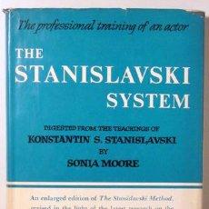 Libros de segunda mano: MOORE, SONIA - THE STANISLAVSKI SYSTEM - NEW YORK 1965 - REVISED AND ENLARGED EDITION. Lote 47703904