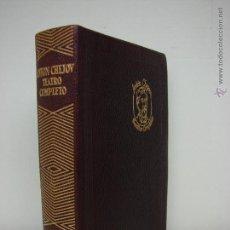 Libros de segunda mano: ANTON CHEJOW. TEATRO COMPLETO. AGUILAR. Lote 48483050
