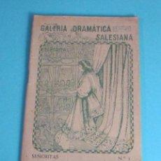 Libros de segunda mano: SANTA INÉS. GALERÍA DRAMÁTICA SALESIANA. COLECCIÓN SEÑORITAS Nº 1. Lote 48499320