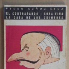 Libros de segunda mano: BIBLIOTECA TEATRAL Nº 37 - MUÑOZ SECA / EL CONTRABANDO / COBA FINA / LA CASA DE LOS CRIMENES -. Lote 48523378