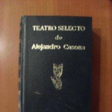 Libros de segunda mano: TEATRO SELECTO DE ALEJANDRO CASONA, ESCELSIER, 2 EDICION. Lote 48562288