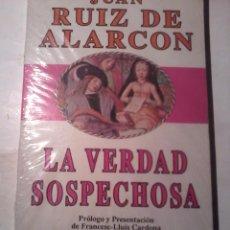 Libros de segunda mano: LA VERDAD SOSPECHOSA. JUAN RUIZ DE ALARCON. NUEVO PRECINTADO. EST13B4. Lote 48607745