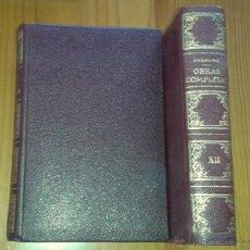 Libros de segunda mano: MIGUEL DE UNAMUNO - OBRAS COMPLETAS, TOMO XII. TEATRO - AFRODISIO AGUADO / VERGARA, 1958. Lote 48651320