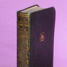 Libros de segunda mano: OBRAS COMPLETAS DE SERAFÍN Y JOAQUÍN ALVAREZ QUINTERO. TOMO II. Lote 48745406