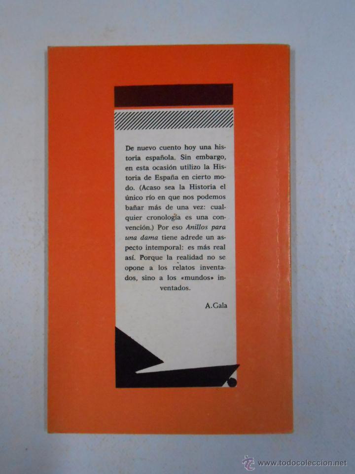 Libros de segunda mano: ANILLOS PARA UNA DAMA. - ANTONIO GALA. COLECCION ESCENA Nº 31. TDK232 - Foto 2 - 179126076