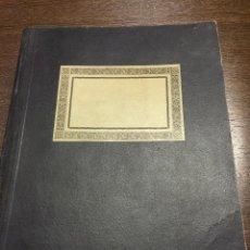 Libros de segunda mano: ORIGINAL GUION DE TEATRO, EN LIBRETA ANTIGUA CON CORRECCIONES. LUZBEL - EL DIABLO VERS.ESPAÑOLA. Lote 48893298