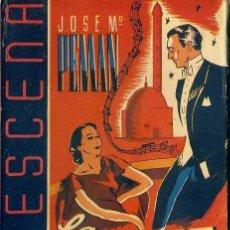 Libros de segunda mano: JOSÉ Mª PEMÁN : LA DANZA DE LOS VELOS (LA ESCENA, 1942). Lote 49229476