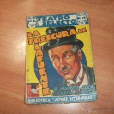 Libros de segunda mano: LA FRESCURA DE LA FUENTE. Lote 49336860