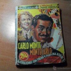 Libros de segunda mano: CARLO MONTE EN MONTECARLO/4 CORAZONES CON FRENO Y MARCHA ATRÁS Y LAS 5 ADVERTENCIAS DE SATANÁS.. Lote 49337128