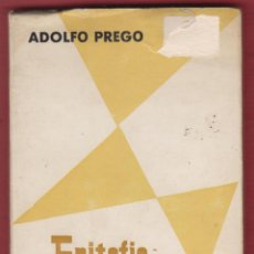 Libros de segunda mano: EPITAFIO PARA UN SOÑADOR-ADOLFO PREGO-OBRAS DEL TEATRO ESPAÑOL-1965-115 PAG-LTEA32. Lote 49725665