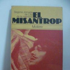 Libros de segunda mano: EL MISANTROP - MOLIERE. Lote 49872936