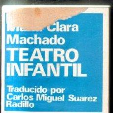 Livres d'occasion: Nº 700. TEATRO INFANTIL. CLARA MACHADO, MARIA. CET-676. Lote 49951475