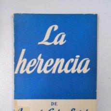 Libros de segunda mano - LA HERENCIA. JOAQUIN CALVO SOTELO. COLECCION TEATRO Nº 199. TDK104 - 49976194