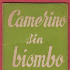 Libros de segunda mano: CAMERINO SIN BIOMBO-JOSÉ Mª ZABALZA-Nº344-COLEC.TEATRO-ED.ALFIL-1962-64 PAG-LTEA224. Lote 50045741