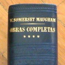 Libros de segunda mano: W. SOMERSET MAUGHAM: OBRAS COMPLETAS, VOL. IV: TEATRO. Lote 50258789