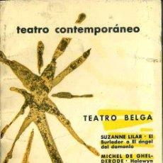 Libros de segunda mano: TEATRO BELGA CONTEMPORÁNEO (AGUILAR, 1965). Lote 50531270