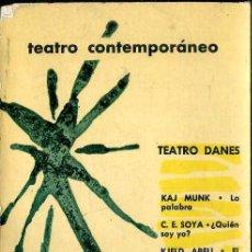 Libros de segunda mano: TEATRO DANÉS CONTEMPORÁNEO (AGUILAR, 1962). Lote 50531291