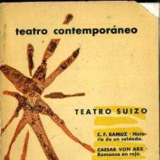 Libros de segunda mano: TEATRO SUIZO CONTEMPORÁNEO (AGUILAR, 1961) . Lote 50531484