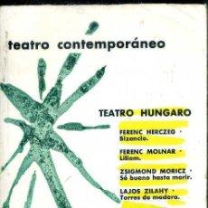 Libros de segunda mano: TEATRO HÚNGARO CONTEMPORÁNEO (AGUILAR, 1969). Lote 50531553