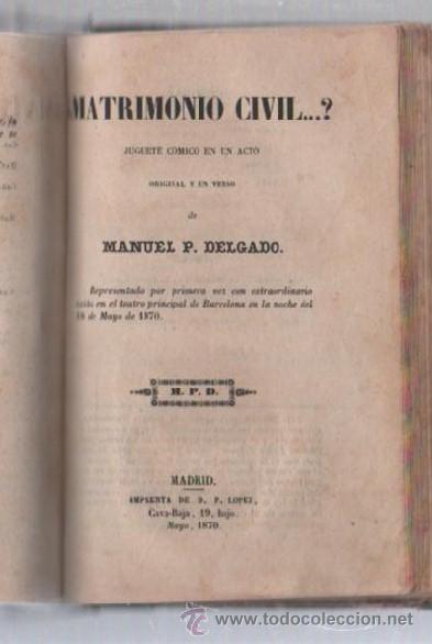 Libros de segunda mano: COMEDIAS. VARIAS OBRAS DE VARIOS AUTORES RECOGIDAS EN ESTE TOMO. IMP. JOSE RODRIGUEZ, MADRID. LEER - Foto 3 - 50930001