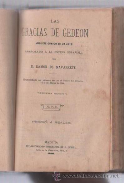 Libros de segunda mano: COMEDIAS. VARIAS OBRAS DE VARIOS AUTORES RECOGIDAS EN ESTE TOMO. IMP. JOSE RODRIGUEZ, MADRID. LEER - Foto 6 - 50930001