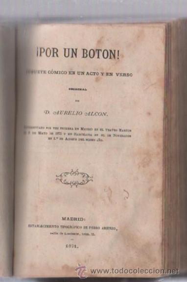 Libros de segunda mano: COMEDIAS. VARIAS OBRAS DE VARIOS AUTORES RECOGIDAS EN ESTE TOMO. IMP. JOSE RODRIGUEZ, MADRID. LEER - Foto 10 - 50930001