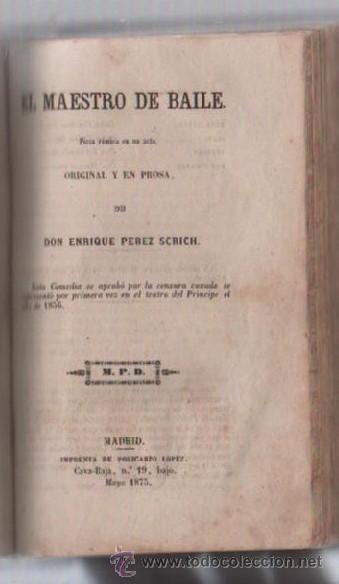 Libros de segunda mano: COMEDIAS. VARIAS OBRAS DE VARIOS AUTORES RECOGIDAS EN ESTE TOMO. IMP. JOSE RODRIGUEZ, MADRID. LEER - Foto 11 - 50930001
