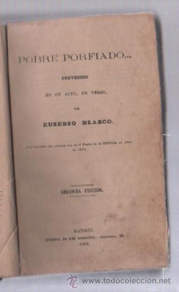 Libros de segunda mano: COMEDIAS. VARIAS OBRAS DE VARIOS AUTORES RECOGIDAS EN ESTE TOMO. IMP. JOSE RODRIGUEZ, MADRID. LEER - Foto 12 - 50930001