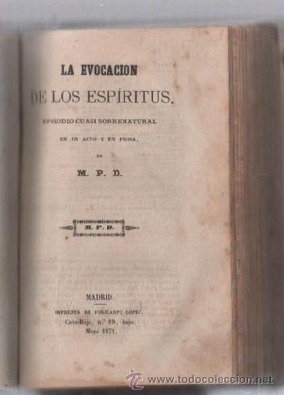 Libros de segunda mano: COMEDIAS. VARIAS OBRAS DE VARIOS AUTORES RECOGIDAS EN ESTE TOMO. IMP. JOSE RODRIGUEZ, MADRID. LEER - Foto 13 - 50930001