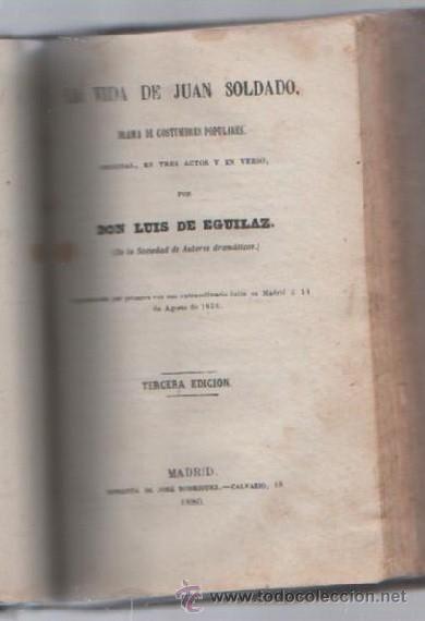 Libros de segunda mano: COMEDIAS. VARIAS OBRAS DE VARIOS AUTORES RECOGIDAS EN ESTE TOMO. IMP. JOSE RODRIGUEZ, MADRID. LEER - Foto 14 - 50930001