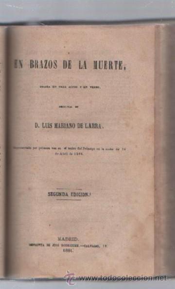 Libros de segunda mano: COMEDIAS. VARIAS OBRAS DE VARIOS AUTORES RECOGIDAS EN ESTE TOMO. IMP. JOSE RODRIGUEZ, MADRID. LEER - Foto 15 - 50930001