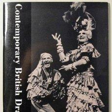 Libros de segunda mano: CONTEMPORARY BRITISH DRAMATISTS. A BRITISH COUNCIL EXHIBITION - 1992. Lote 29406251