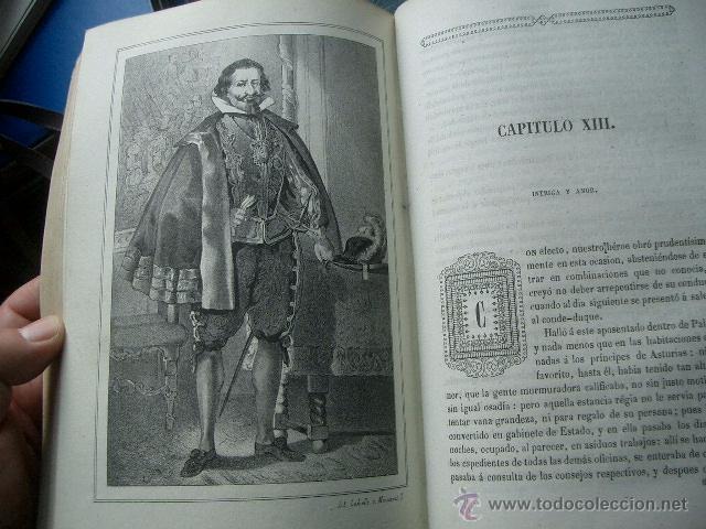 Libros de segunda mano: Quevedo,. Mocedades de Quevedo . D. Francisco J. Orellana.1860 Segunda edición. numerosas litografia - Foto 2 - 51735429