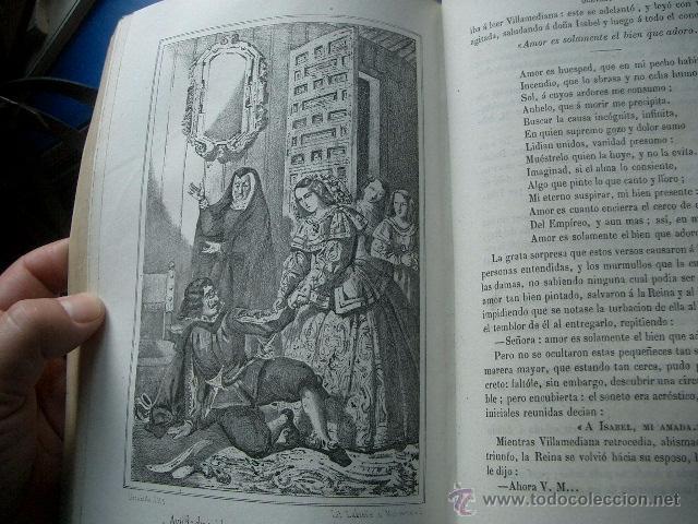 Libros de segunda mano: Quevedo,. Mocedades de Quevedo . D. Francisco J. Orellana.1860 Segunda edición. numerosas litografia - Foto 3 - 51735429
