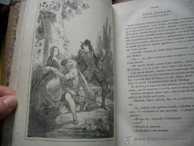 Libros de segunda mano: Quevedo,. Mocedades de Quevedo . D. Francisco J. Orellana.1860 Segunda edición. numerosas litografia - Foto 7 - 51735429