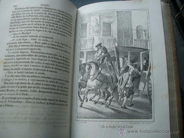 Libros de segunda mano: Quevedo,. Mocedades de Quevedo . D. Francisco J. Orellana.1860 Segunda edición. numerosas litografia - Foto 8 - 51735429