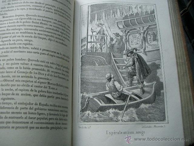 Libros de segunda mano: Quevedo,. Mocedades de Quevedo . D. Francisco J. Orellana.1860 Segunda edición. numerosas litografia - Foto 9 - 51735429