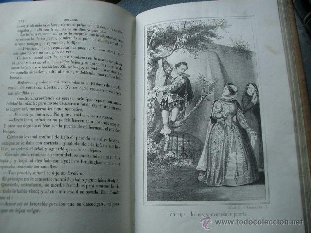 Libros de segunda mano: Quevedo,. Mocedades de Quevedo . D. Francisco J. Orellana.1860 Segunda edición. numerosas litografia - Foto 10 - 51735429