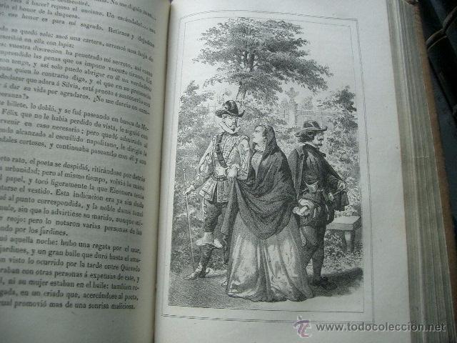 Libros de segunda mano: Quevedo,. Mocedades de Quevedo . D. Francisco J. Orellana.1860 Segunda edición. numerosas litografia - Foto 12 - 51735429