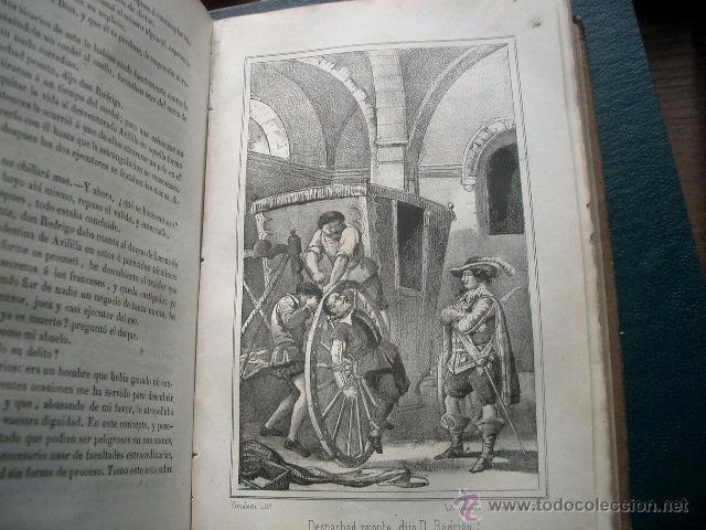 Libros de segunda mano: Quevedo,. Mocedades de Quevedo . D. Francisco J. Orellana.1860 Segunda edición. numerosas litografia - Foto 13 - 51735429