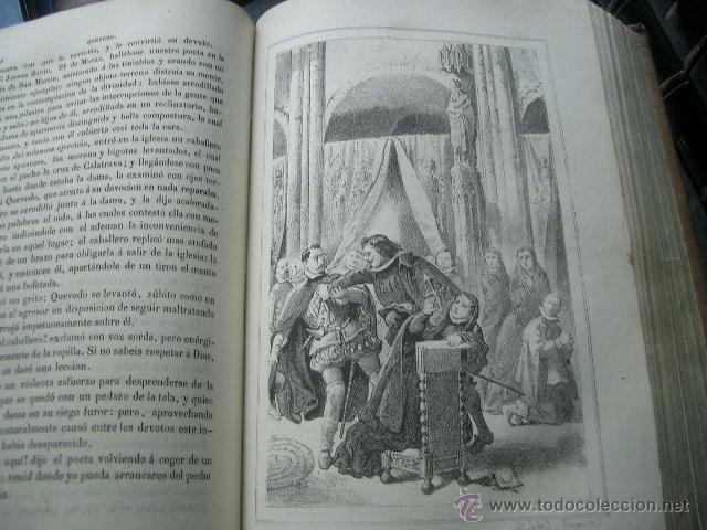 Libros de segunda mano: Quevedo,. Mocedades de Quevedo . D. Francisco J. Orellana.1860 Segunda edición. numerosas litografia - Foto 14 - 51735429