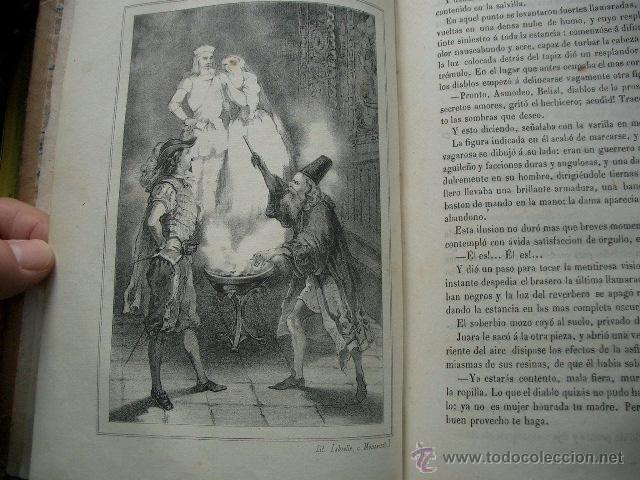 Libros de segunda mano: Quevedo,. Mocedades de Quevedo . D. Francisco J. Orellana.1860 Segunda edición. numerosas litografia - Foto 16 - 51735429