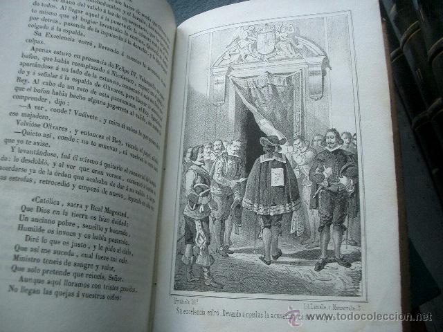 Libros de segunda mano: Quevedo,. Mocedades de Quevedo . D. Francisco J. Orellana.1860 Segunda edición. numerosas litografia - Foto 17 - 51735429