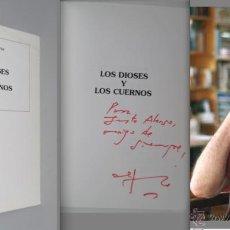 Libros de segunda mano: SASTRE. DEDICADO POR ALFONSO SASTRE AL PRODUCTOR TEATRAL JUSTO ALONSO. LOS DIOSES Y LOS CUERNOS. Lote 52618339