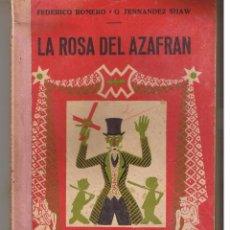 Libros de segunda mano: BIBLIOTECA TEATRAL. Nº 166. LA ROSA DEL AZAFRAN. FEDERICO ROMERO / G. FERNANDEZ SHAW. (P/D21). Lote 52863652