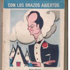 Libros de segunda mano: CON LOS BRAZOS ABIERTOS. LEANDRO NAVARRO. BIBLIOTECA TEATRAL Nº 69. (P/D21). Lote 52867326
